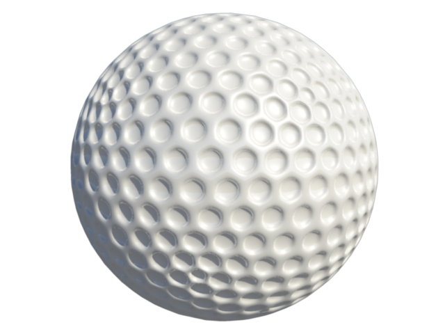 Golf ball.3ds golf ball.blend golf ball.fbx golf ball.obj golf ball