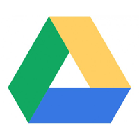 Drawing Google Drive Icon
