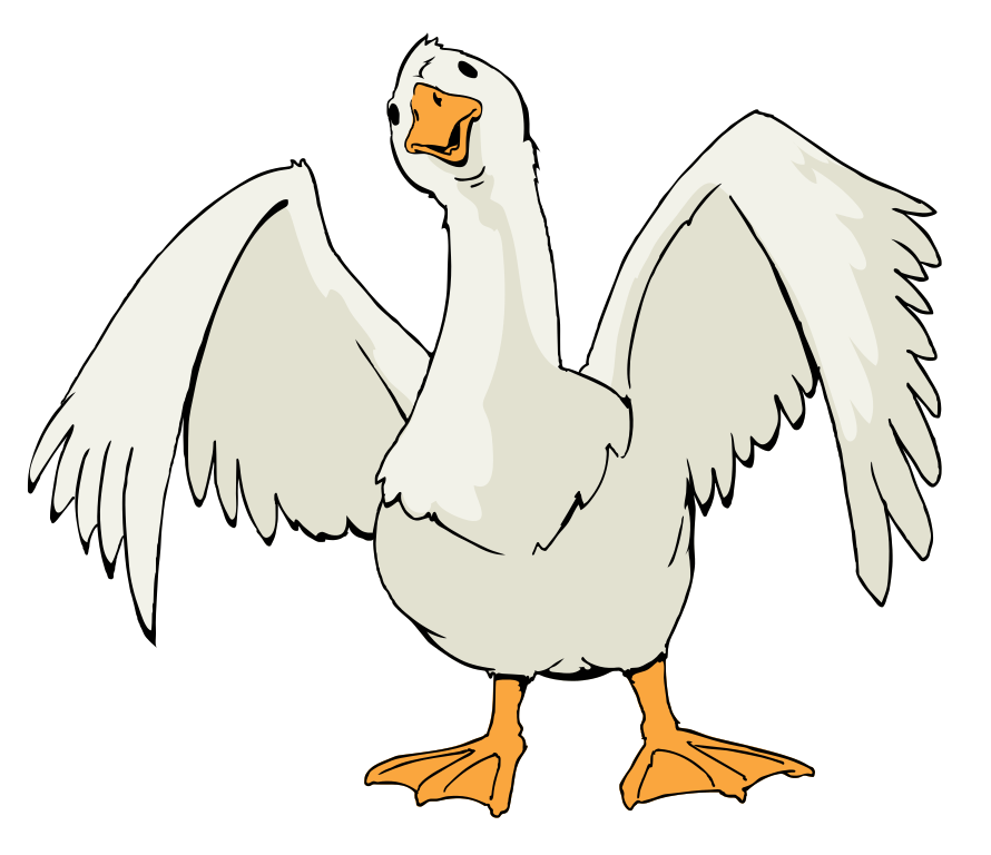 Goose Png Cliaprt image #33510