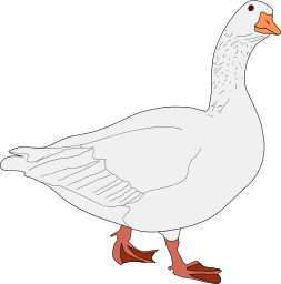goose png clipart