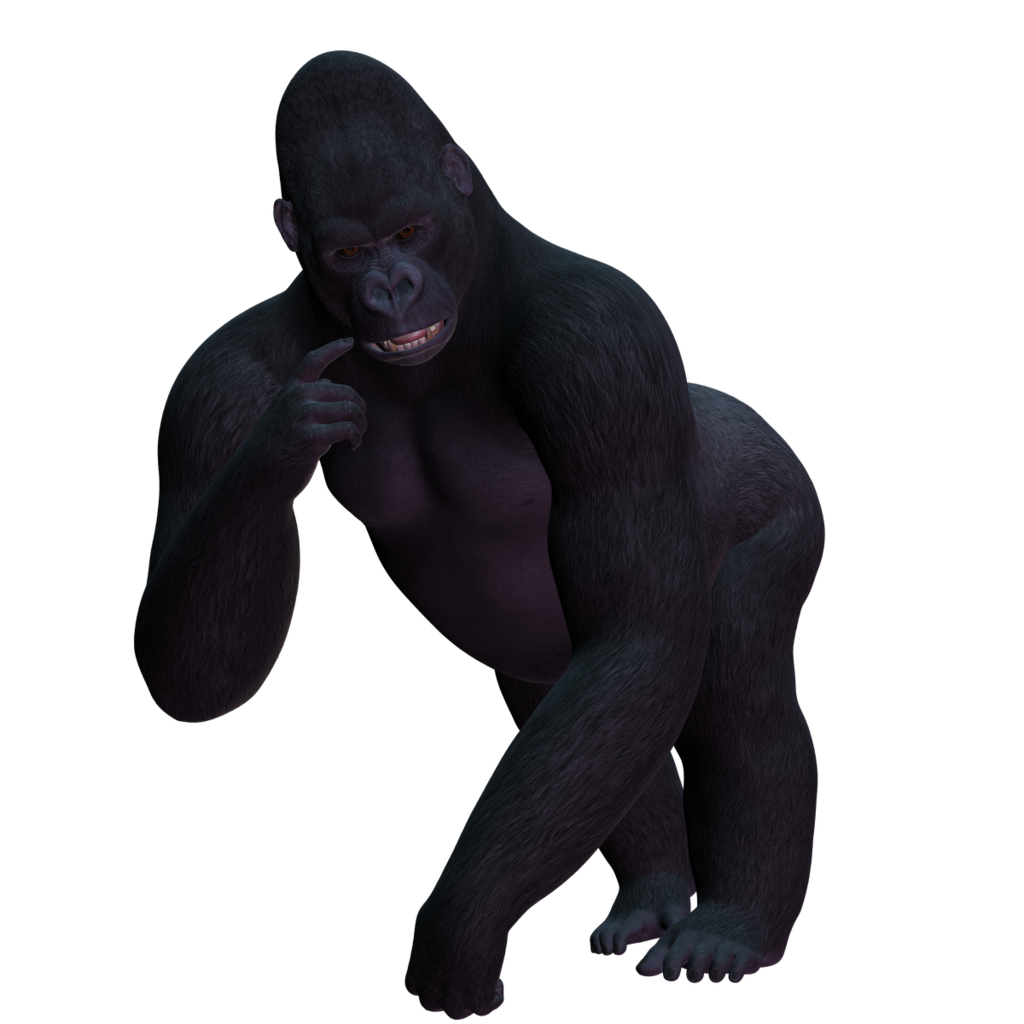 Browse And Download Gorilla Png Pictures image #37853
