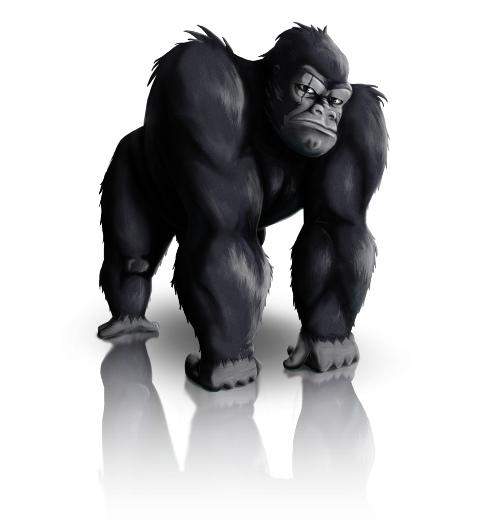 Gorilla Png image #37873
