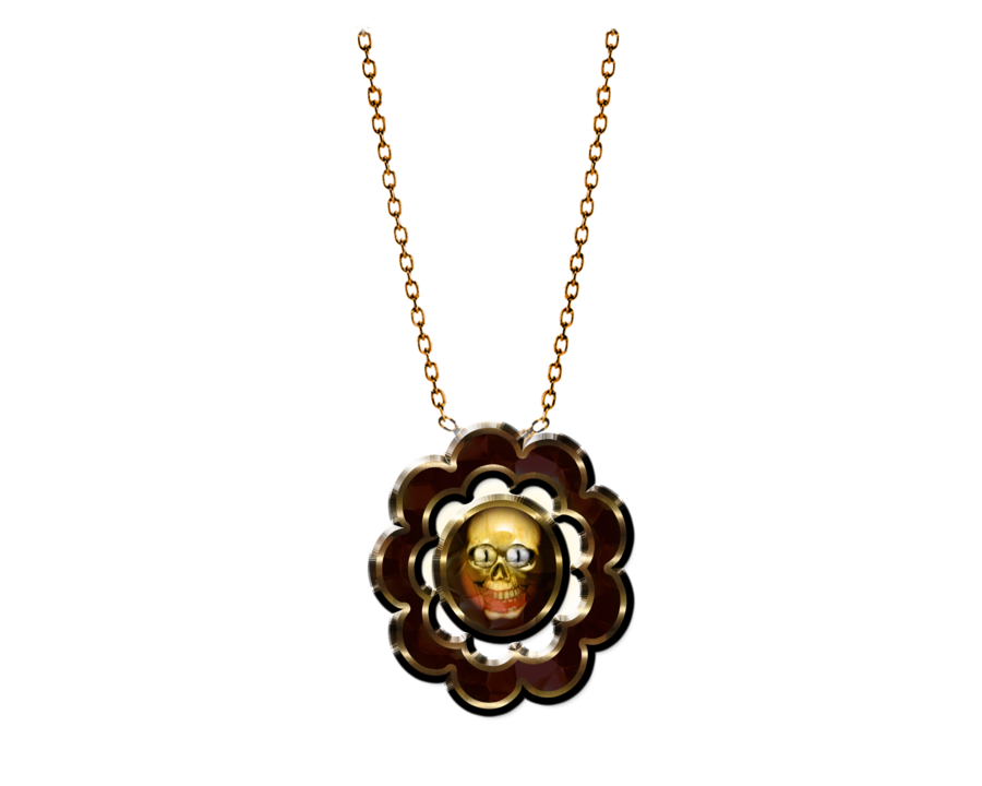 Gothic necklace png image