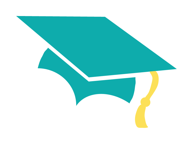 Image result for graduation free teal icon