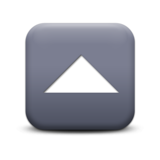 gray arrow up icon