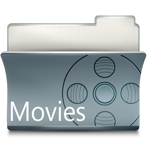 Gray File Movies Folder Images