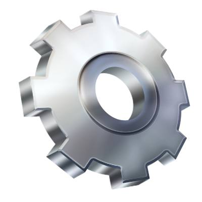 Gray Gear Icon #2241 - Free Icons and PNG Backgrounds