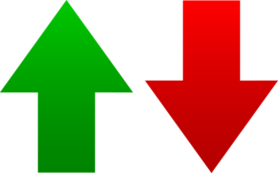 Green And Red Arrow Symbols image #4746