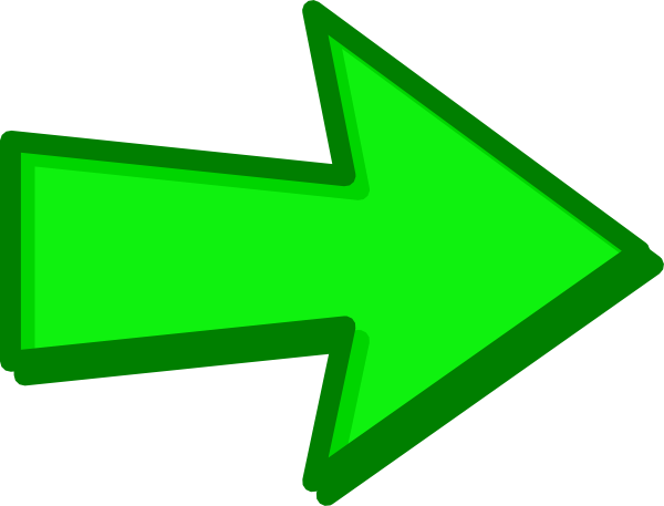 Green Arrow Png image #16640