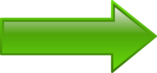 Green Key Arrow Png image #16658