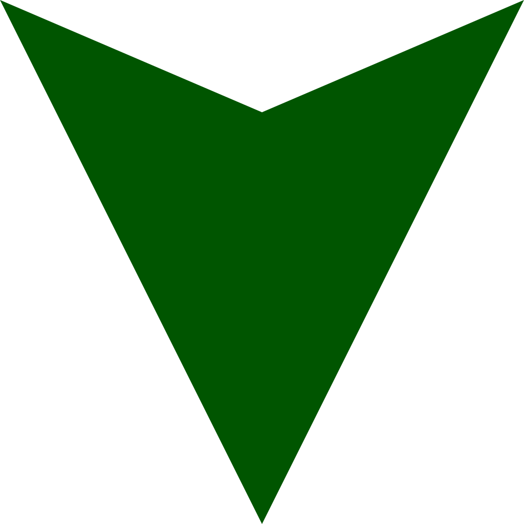 Dark Green Down Arrow image #16648
