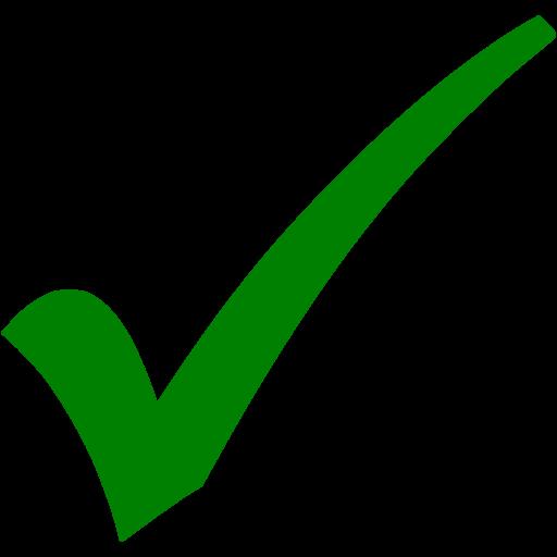 green check mark 2 icon