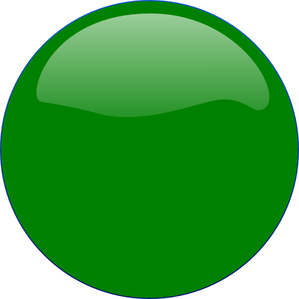 Green Circle Icon image #16076