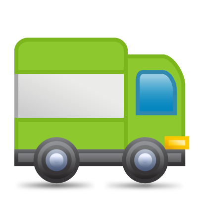 Green Delivery Icon image #7977