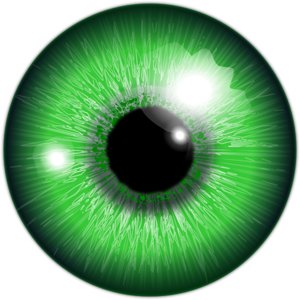 Green Eye Clipart Png image #42317
