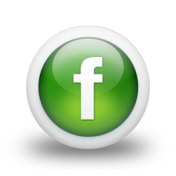 green Facebook logo