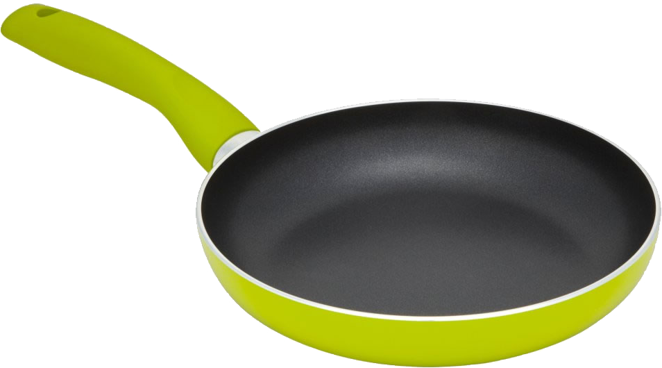 Green Frying Pan PNG image #43338