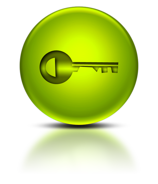 green key icon