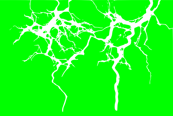 Green Lightning Png