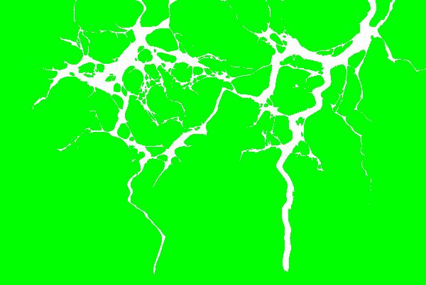 Green Lightning Png