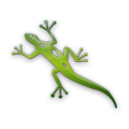 Green Lizard Icon image #33204
