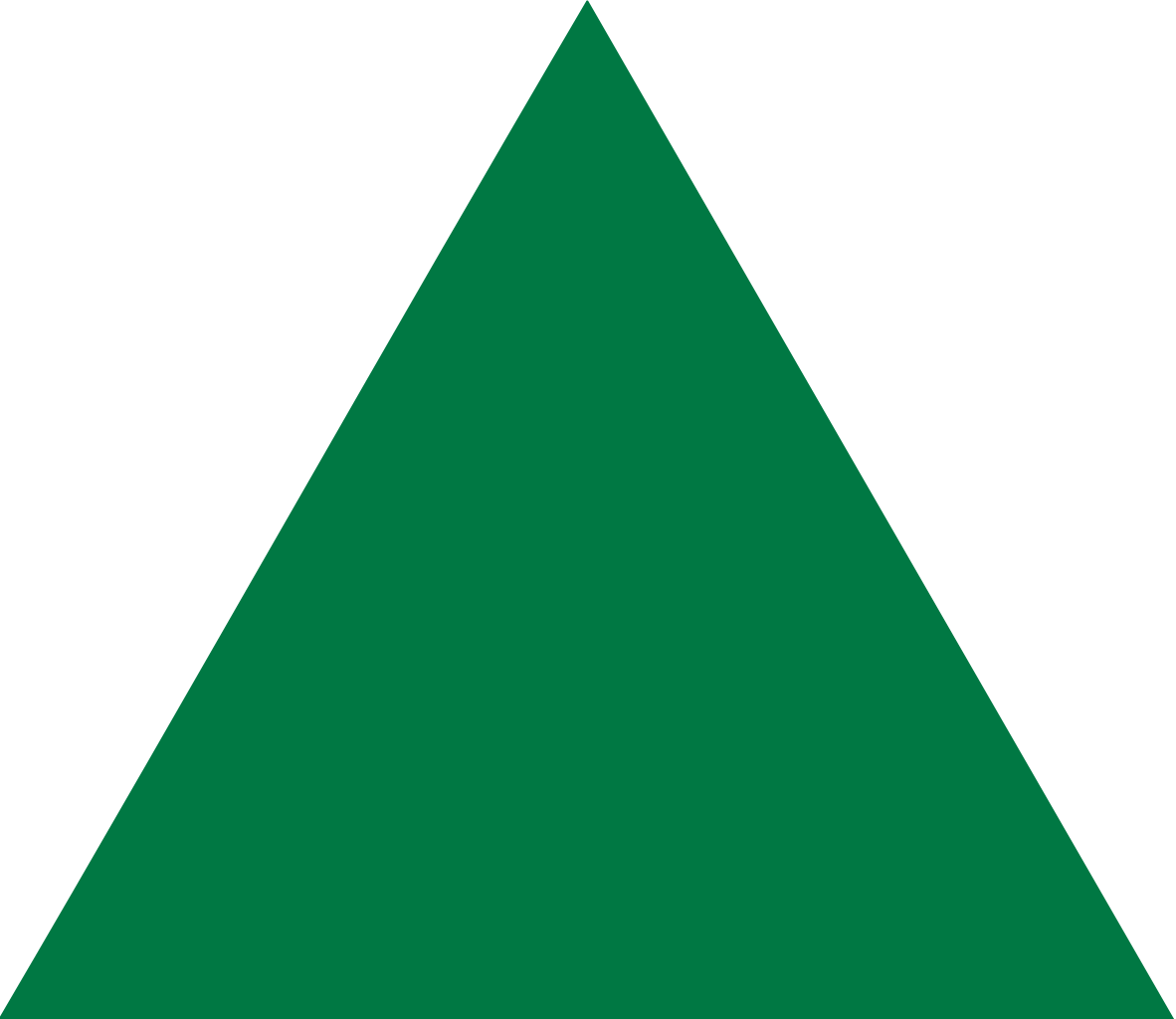 Green Normal Triangle Png image #42404