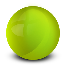 Green Orb Png image #25385