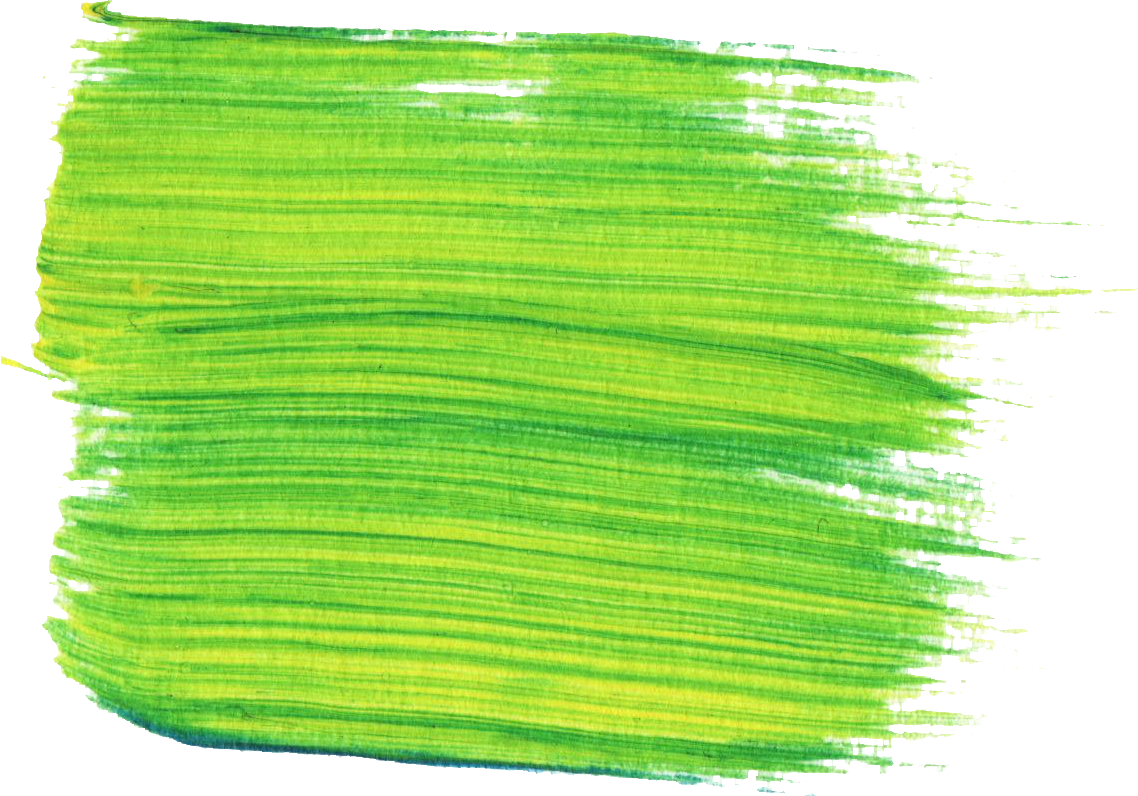 Green Paint Brush Stroke Picture