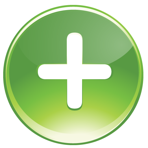 Green Plus Icon image #13067