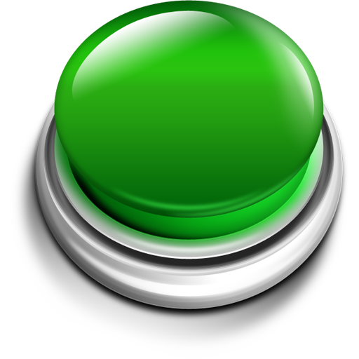 Green Push Button Icon Png image #21056