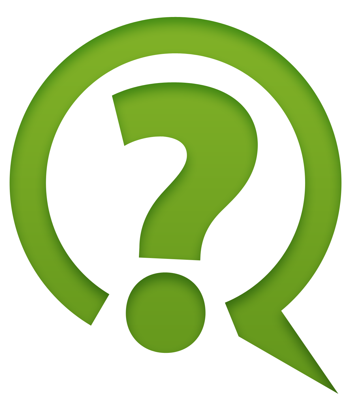 Green Question Mark Icon Png ClipArt image #41640