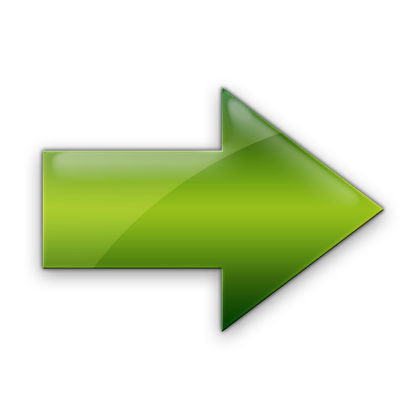 Green Right Arrow Icon image #7583
