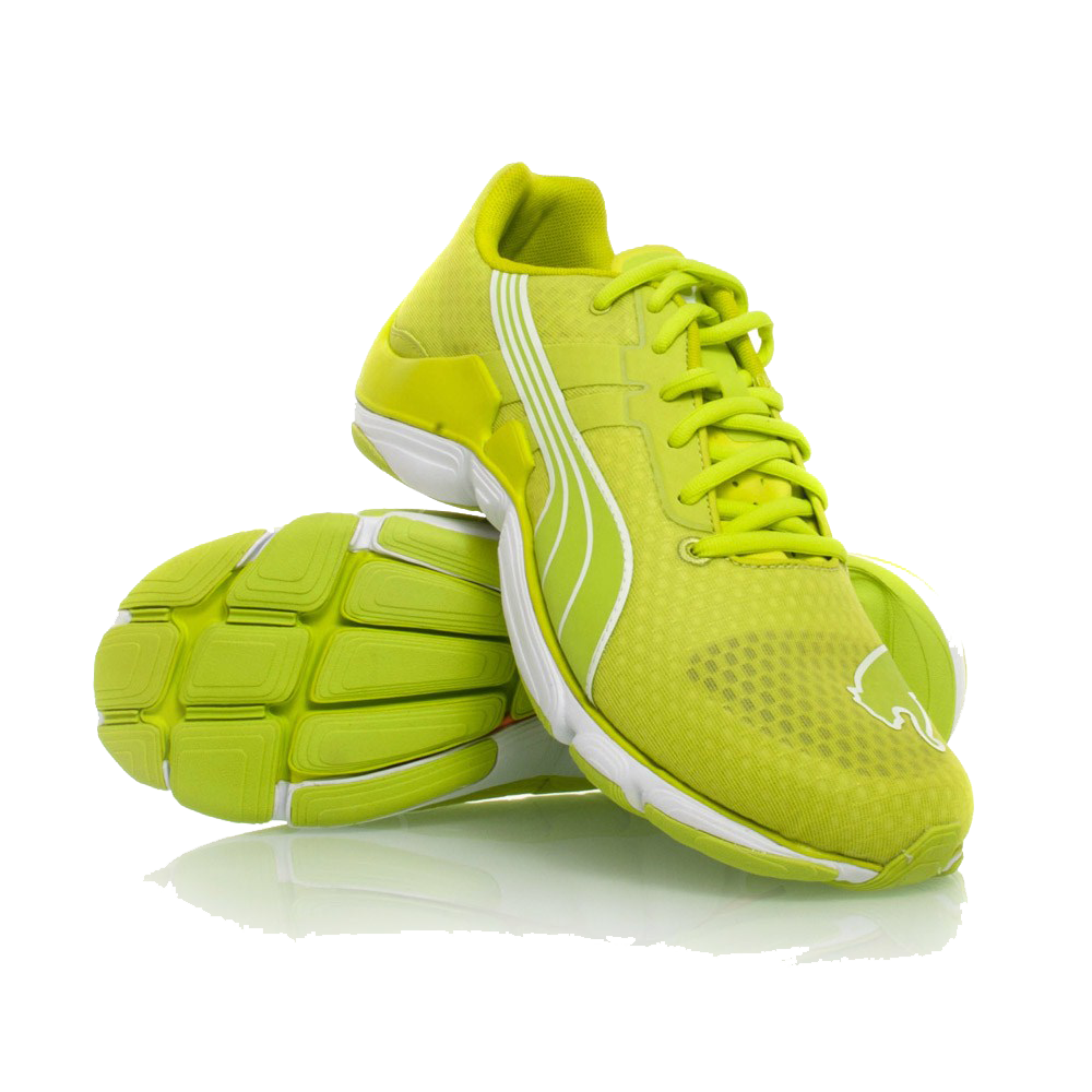 green running shoes png