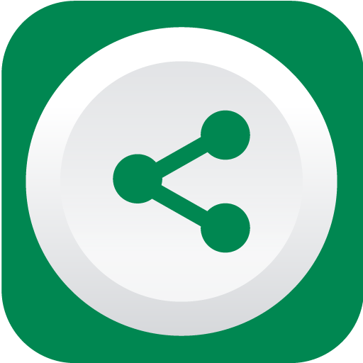 Green Share Icon image #40129