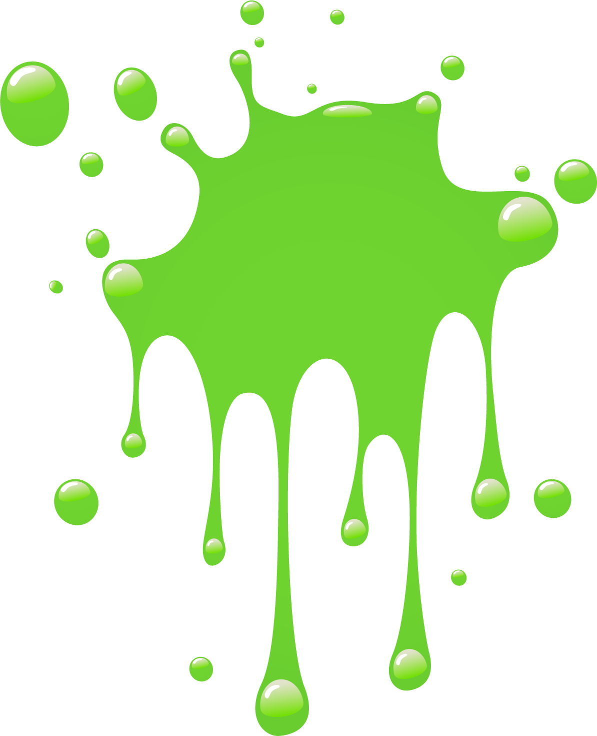 green splat png