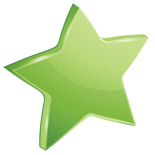 Green Star Icon image #19143