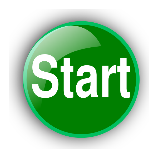 green start button clip art 44877 free icons and png