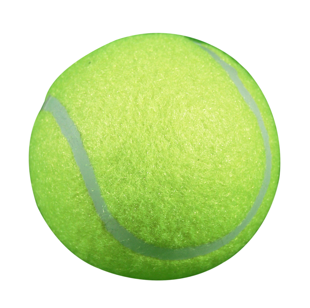 Green Tennis Ball PNG image #43446