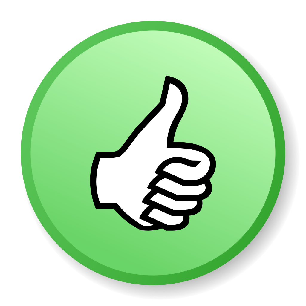 Thumbs Up Icons - PNG & Vector - Free Icons and PNG ...