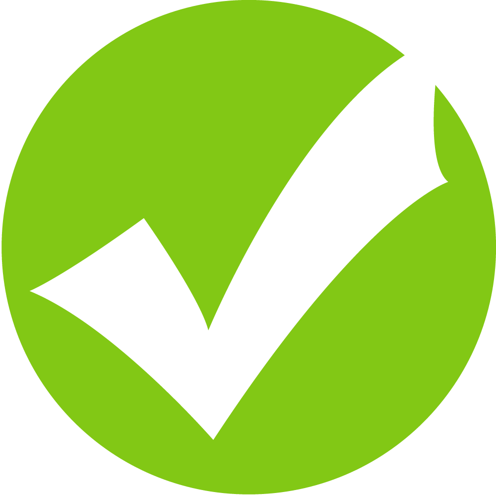 Green Tick Icon image #14141