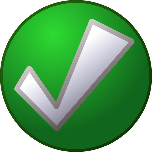 Green Tick Icon image #14164