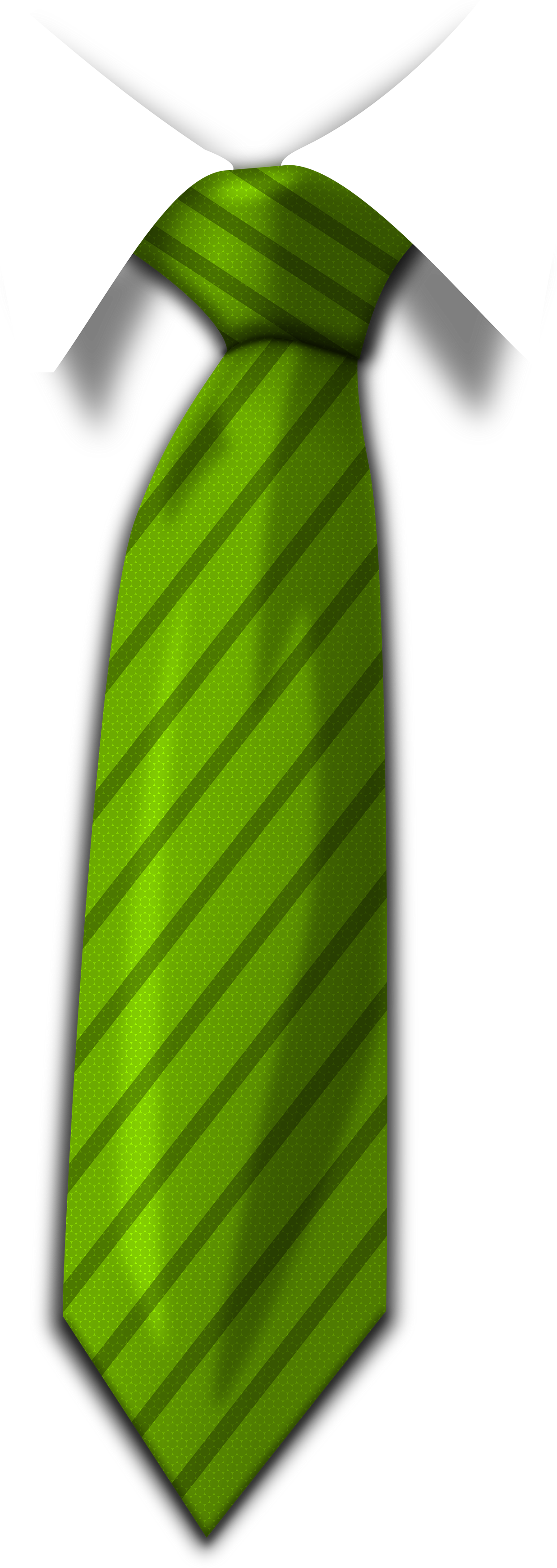 Green Tie Png image #42577