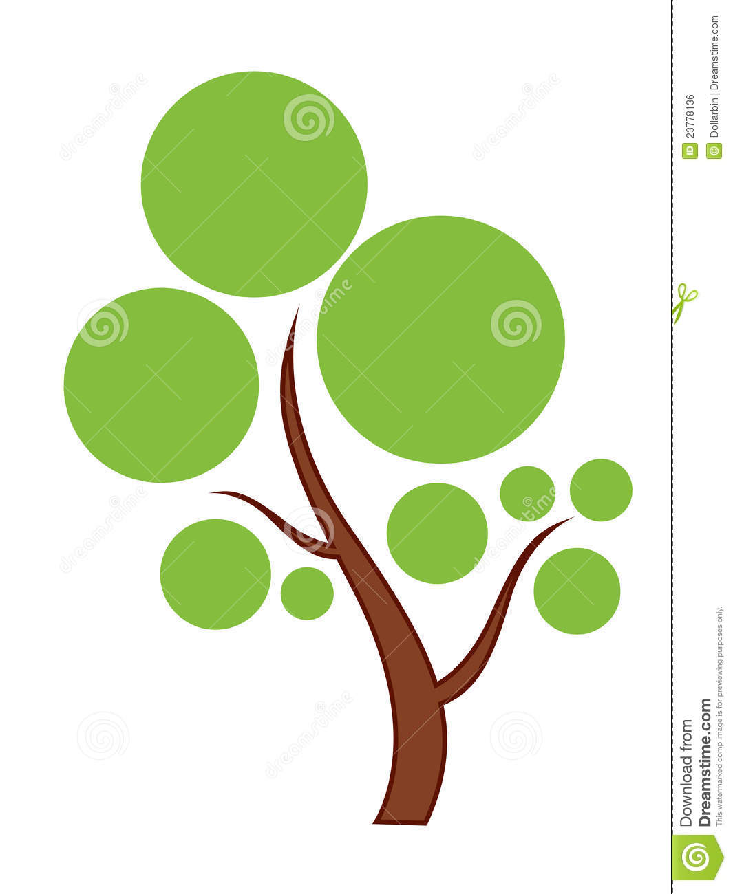 Green Tree Icon Royalty Free Stock Image   Image: 23778136 image #1530