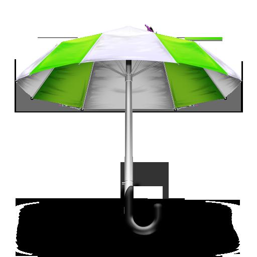 Green umbrella png