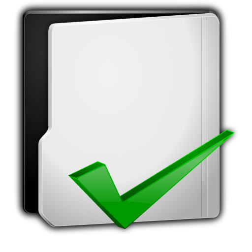 Grey Folder Options Icon image #26868