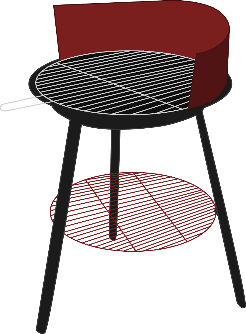 Download Free Grill Vector Png