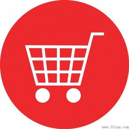 Free Grocery Cart Icon image #7491