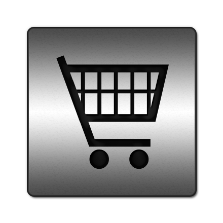 Grocery Cart Icon image #7492