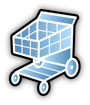 Grocery Cart Icon image #7496