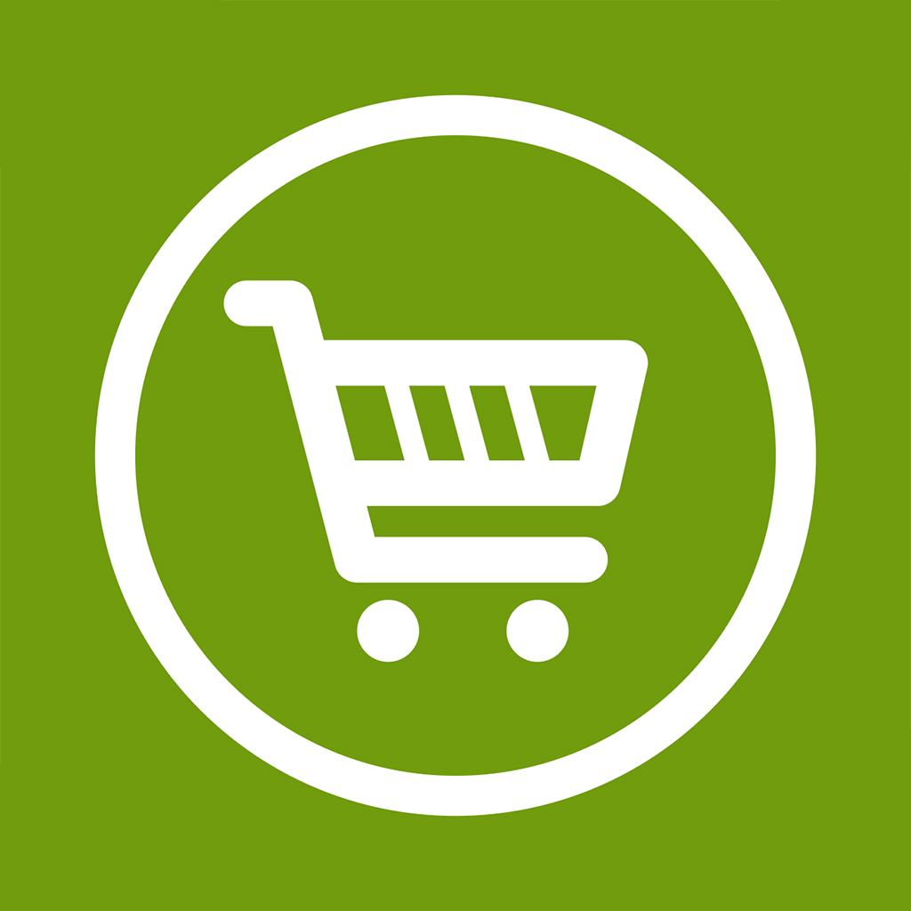 Grocery Cart Icon image #7498